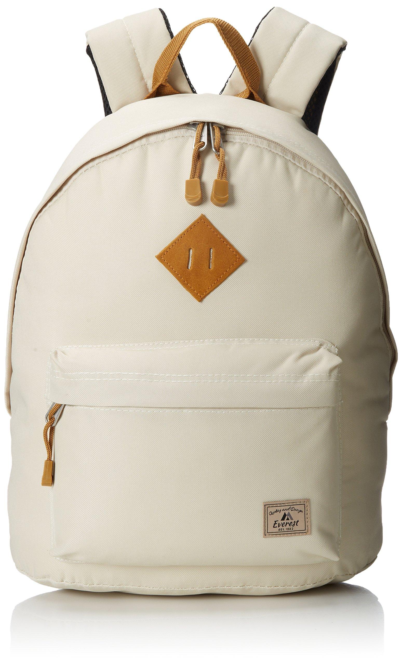 Everest Vintage Backpack, Beige, One Size