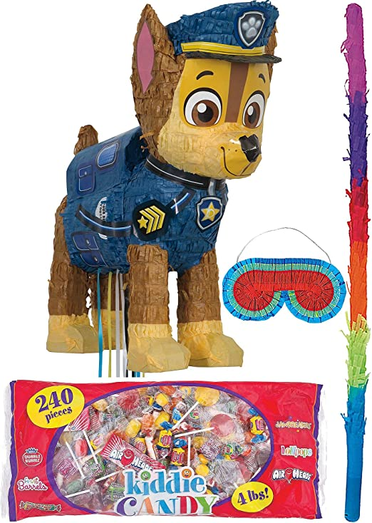 Amazon.com: Party City Chase PAW Patrol Pinata Kit para ...
