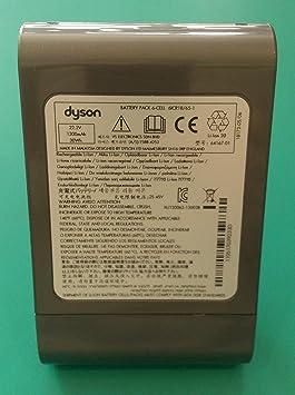 Batterie d'origine pour aspirateur Dyson DC35, DC35 Slim, DC 35 Multifloor, DC 35 DigitalSlim, DC44 Animal, 967863 03 64167 01, 22,2 V, 1 300 mAh, 30