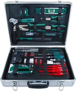 Mannesmann - M29071-75 piezas Juego de herramientas en maletín de aluminio: Amazon.es: Bricolaje y herramientas
