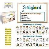 Smileyboard® Komplett-Set für 3-10 Jährige - So macht Erziehung Spaß!