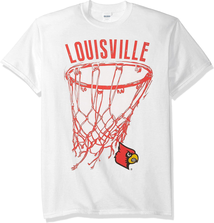 New World Graphics NCAA Basketball Net Drop Short Sleeve Tee