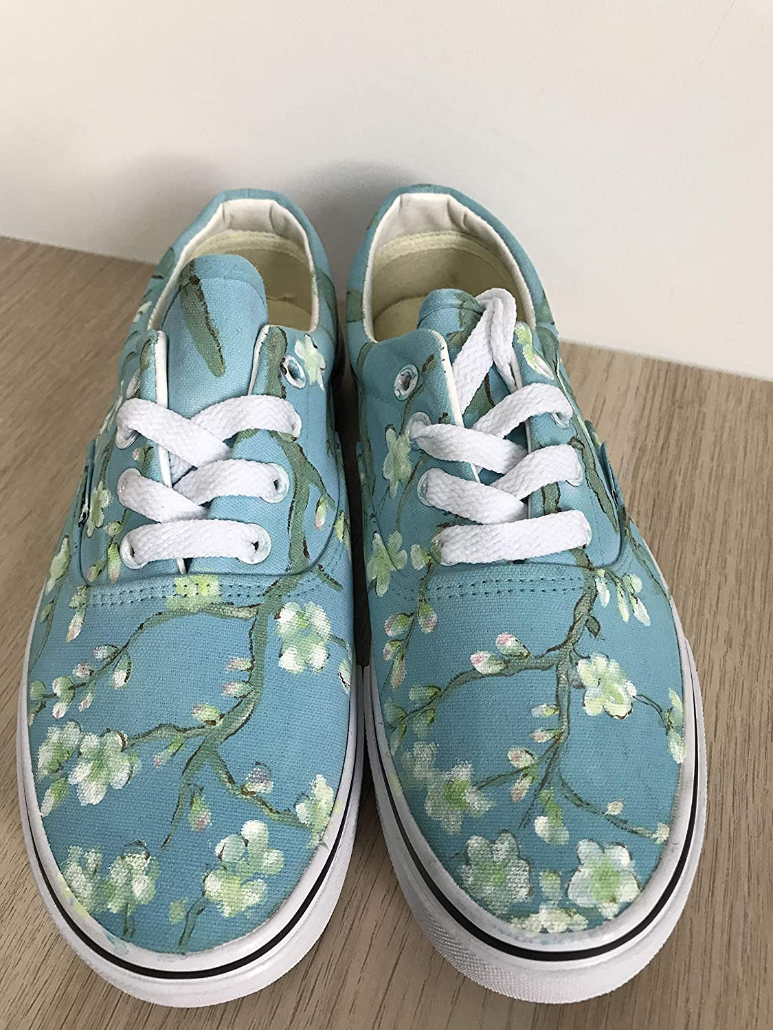 7717f6a57b Vans Vincent Van Gogh Blossoming Almond Tree Vans Authentic Custom Shoes  Vans Authentic Custom Hand Painted Shoes Hand Painted Vans Authentic Custom  Vans ...
