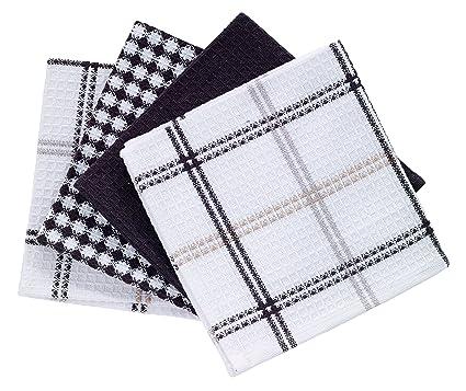 Superieur T Fal Textiles 100% Cotton Waffle Weave Kitchen Dish Cloths,12u0026quot; X