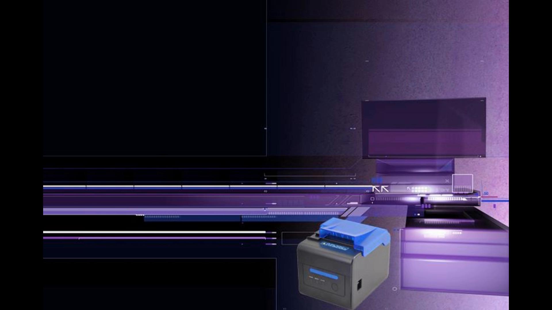 Cubierta Protectora] Impresora Térmica 300 mm/Sec 80mm / Receipt ...