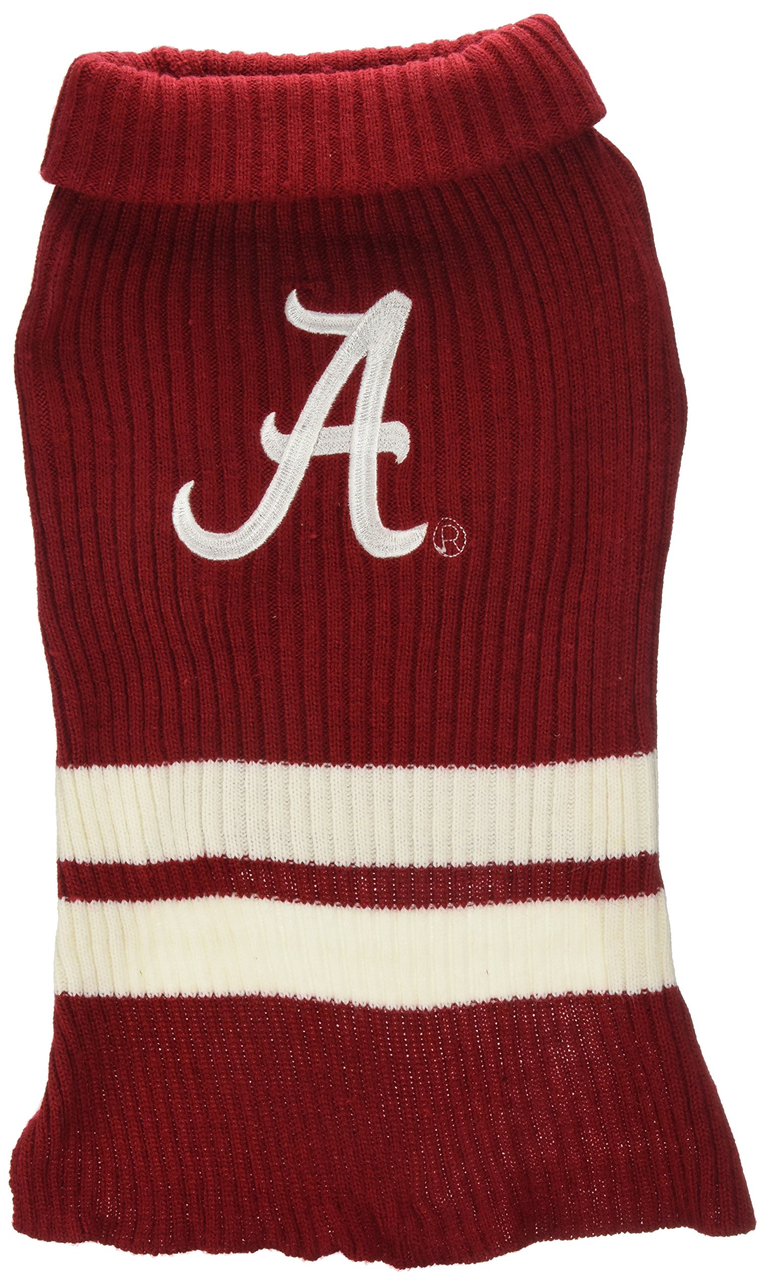 Pets First Collegiate Alabama Crimson Tide Pet Sweater, Medium