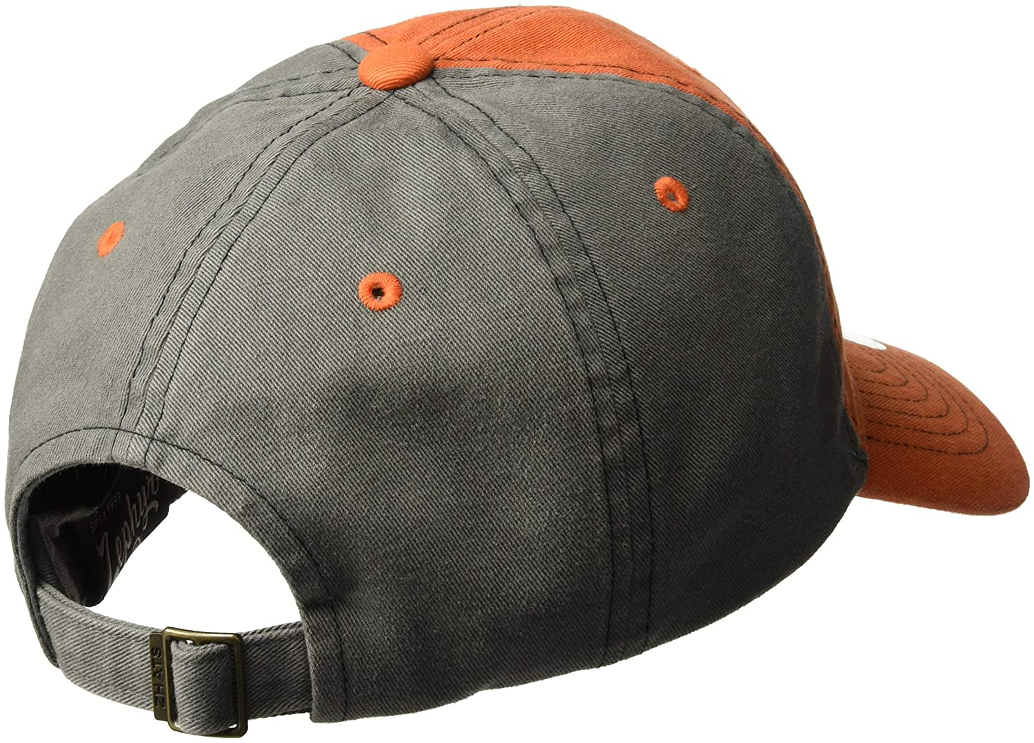 Zephyr Mens Moonscape Relaxed Cap Grey//Team Color Adjustable