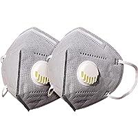 AIORNIY 1/2 piezas antipolvo Protección Facial Polvo Viento