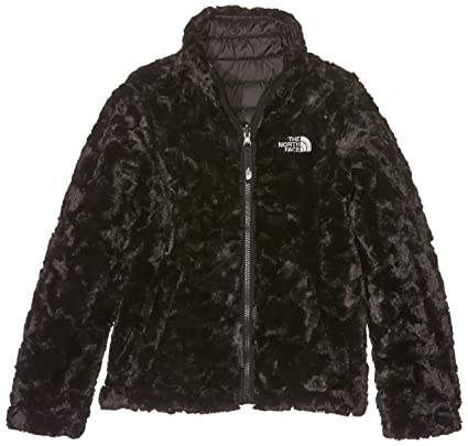 Amazon.com: The North Face Girls Reversible Mossbud Swirl Jacket - TNF Black - L: Sports & Outdoors