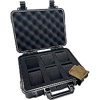 ModernGen 6 Slot Watch Box - Heavy Duty Plastic Impact Resistant Waterproof