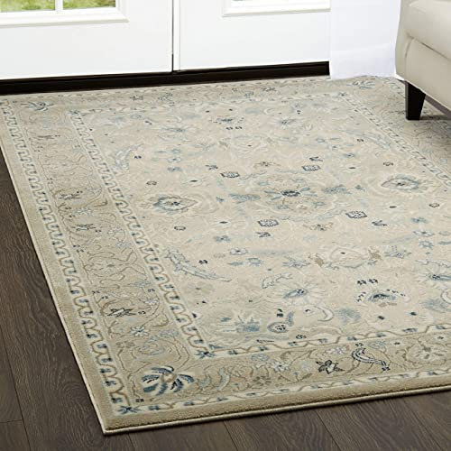 Home Dynamix Shabby Chic Chandler Begonia 172-128 Area Rug 9'2″x12'9″