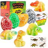 Dinosaur Hatching Eggs in Water Toys - 4 Pack Magic Dino Egg Hatchable Growing in Water for Science Educational Easter…