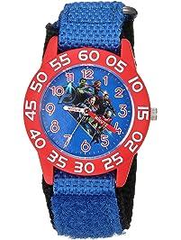 Watches Children Quartz Watches Fashion Cartoon Superman Kids Watch Boy Steel Belt Bracelet Wristwatch Student Girls Gift