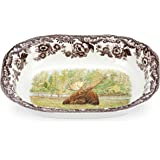 Spode Woodland Majestic Moose Open Vegetable Dish