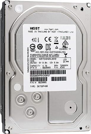 "4TB HGST SAS 3.5/"" 7.2K 6Gb//s 64MB SAS SERVER HARD DRIVE HUS724040ALS640"