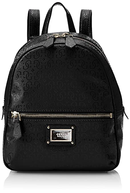 f654625f8 Guess - Shannon Backpack, Mujer, Blanco (Black), 22x29x10.5 cm (W x H L):  Amazon.es: Zapatos y complementos