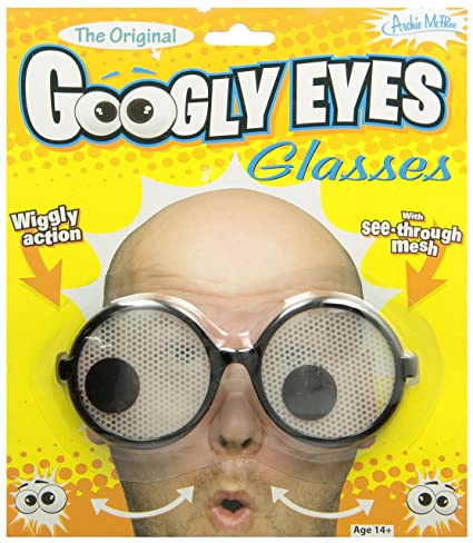 amazon com accoutrements googly eye glasses toys games