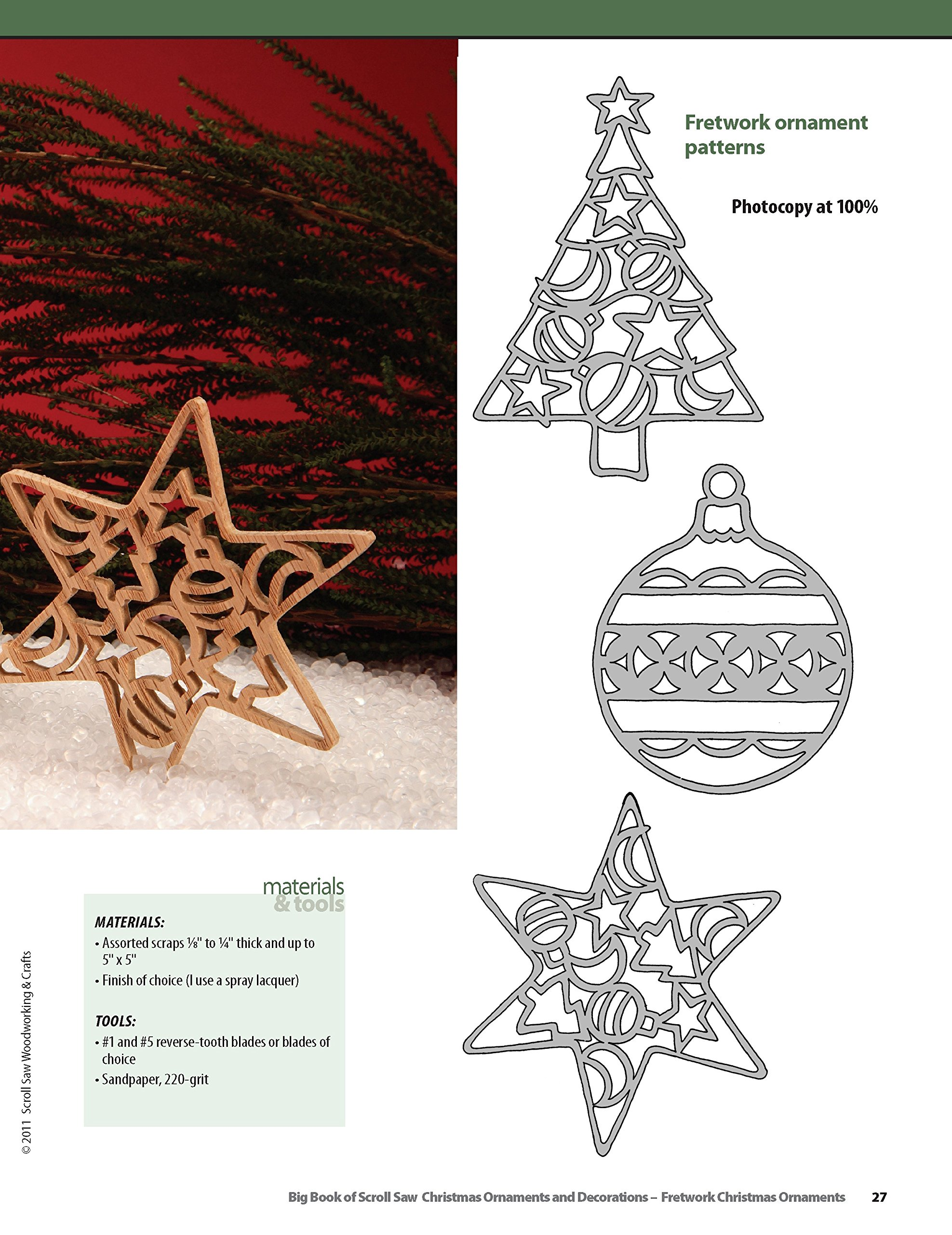 Big Book of Christmas Ornaments and Decorations: 38 Favorite ...