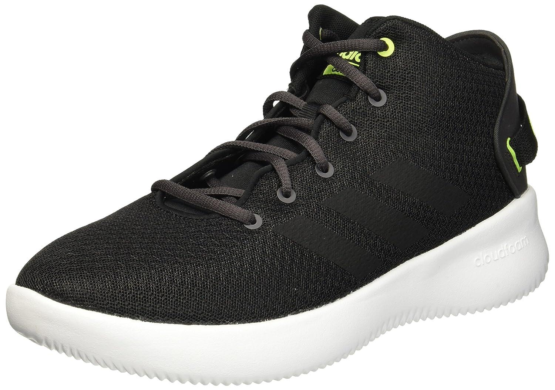 MultiCouleure - gris Noir Jaune (Gritre   Negbas   Amasol) adidas CF Refresh Mid, Chaussures de Fitness Homme 43 EU