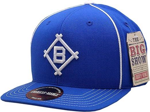 d6e9d6ca6bee11 American Needle Brooklyn Dodgers Snapback Flat Bill Big Show 1912 ...
