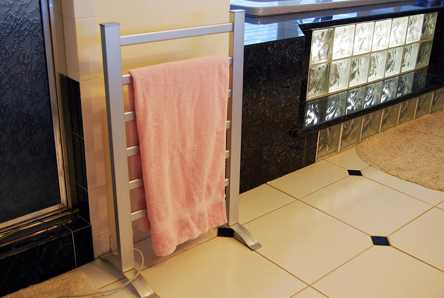 Amazoncom Lcm Home Fashion 6 Bar Freestanding Towel Warmer Drying
