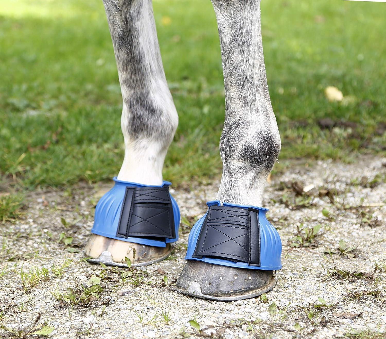 Midblue Kerbl 3210340 Springglocken Gummi paarweise Klettverschluss Pony