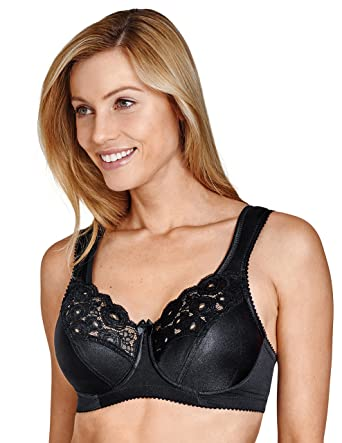 1216b5186a9b7 Amazon.com  Miss Mary Of Sweden Amsterdam Underwired Bra  Clothing