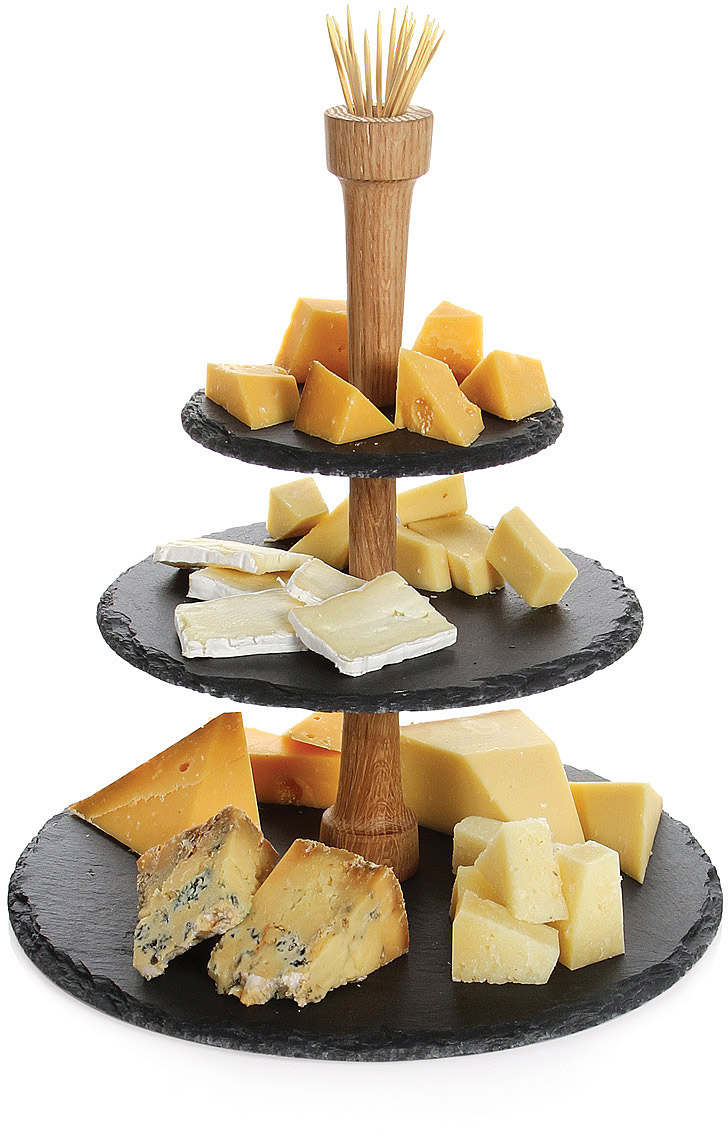 Slate Serving Tower | 3 tier server, serving trays | UncommonGoods