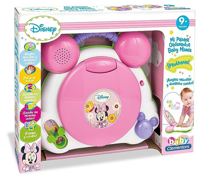 Minnie Mouse - Mi primer ordenador, juguete con sonido (Clementoni 65053): Amazon.es: Juguetes y juegos