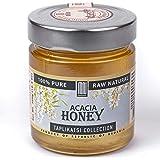 Acacia Monofloral Raw Honey, Organic; Natural Wildflower Honey from Rep. of Georgia (10.5 Ounce) – by Mira Nova