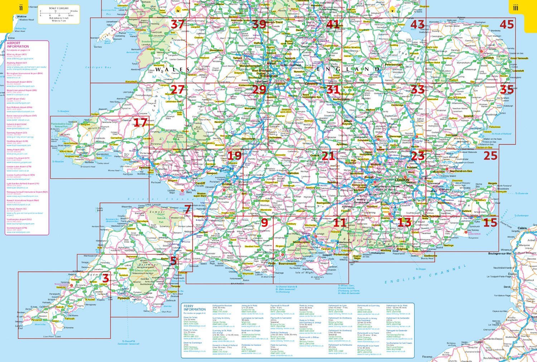 Tomtom Australia Map 915.2018 Collins Big Road Atlas Britain Collins Road Atlas Amazon Co