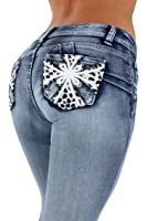 Style SF35057S–Colombian Design, Butt Lift, Levanta Cola, Skinny Jeans