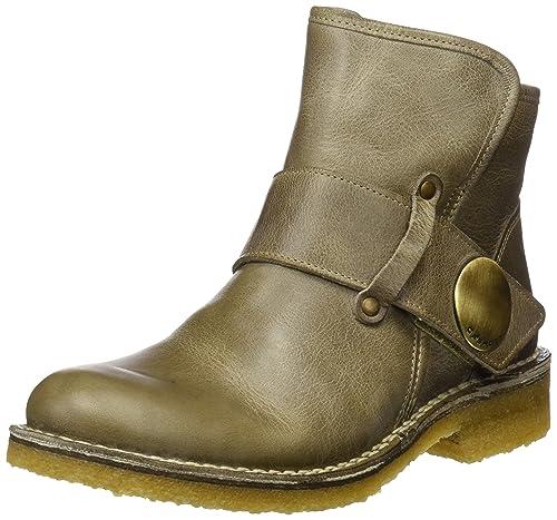 Ca'Shott Damen A14065 Biker Boots Grau (Mushroom West) 36 EU