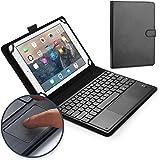 Cooper Cases TOUCHPAD EXECUTIVE Bluetooth キーボード ケース 【 9-10.5 インチ 汎用 】 ワイヤレス タッチパッド マウス タブレット カバー 着脱可能 (ブラック)