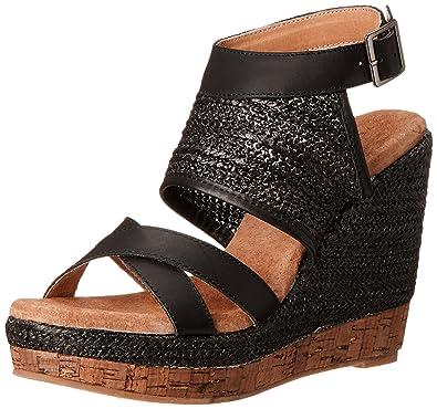 704b34610c11c Amazon.com | Very Volatile Women's Keenan Wedge Sandal | Platforms ...
