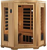 Golden Designs AMZ-GDI-3356-01 Brandenburg 3-Person Far Infrared Sauna