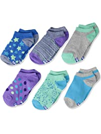 Keds girls 6 Pack Stars Low Show Socks Casual Sock