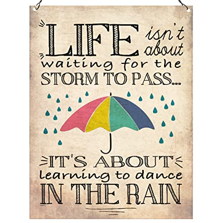 Dorothy Spring Life Isnt About Waiting For The Storm To Pass Its