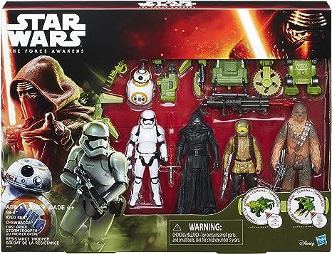 Pack Missión figuras con accesorios Star Wars El Despertar de la Fuerza: Amazon.es: Instrumentos musicales