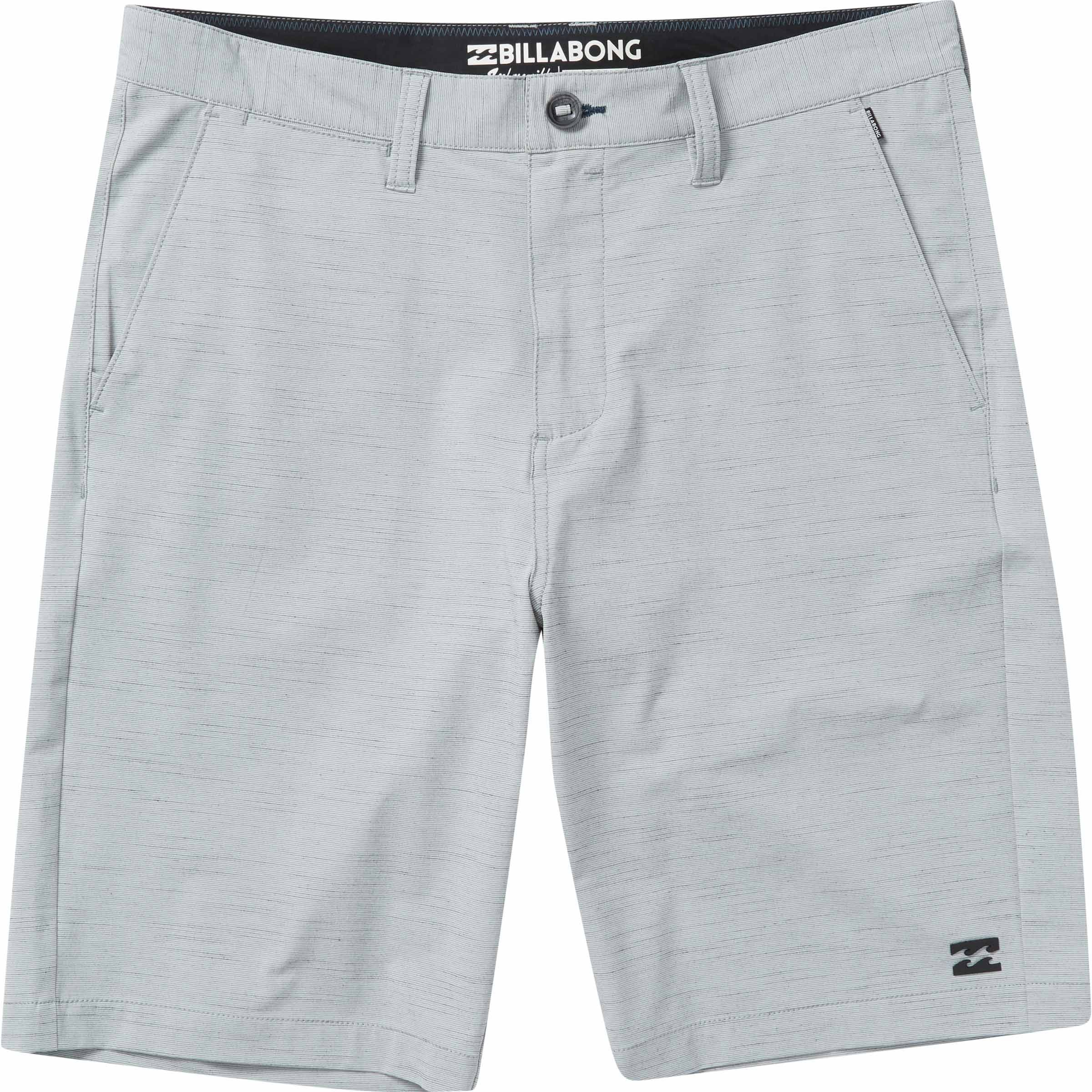 Billabong Men's Crossfire X Slub Submersibles Shorts Silver 33