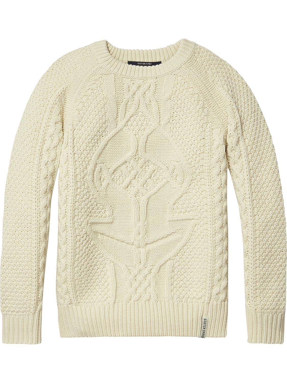 Scotch & Soda Boy's Cable Knit Pullover Jumper Scotch & Soda Shrunk 140207