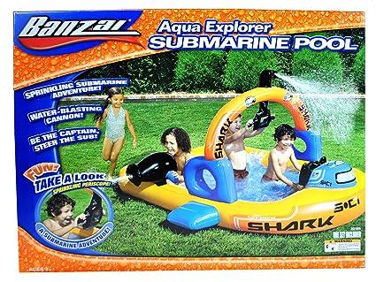 Amazon.com: Banzai Aqua Explorer Series inflable piscina ...