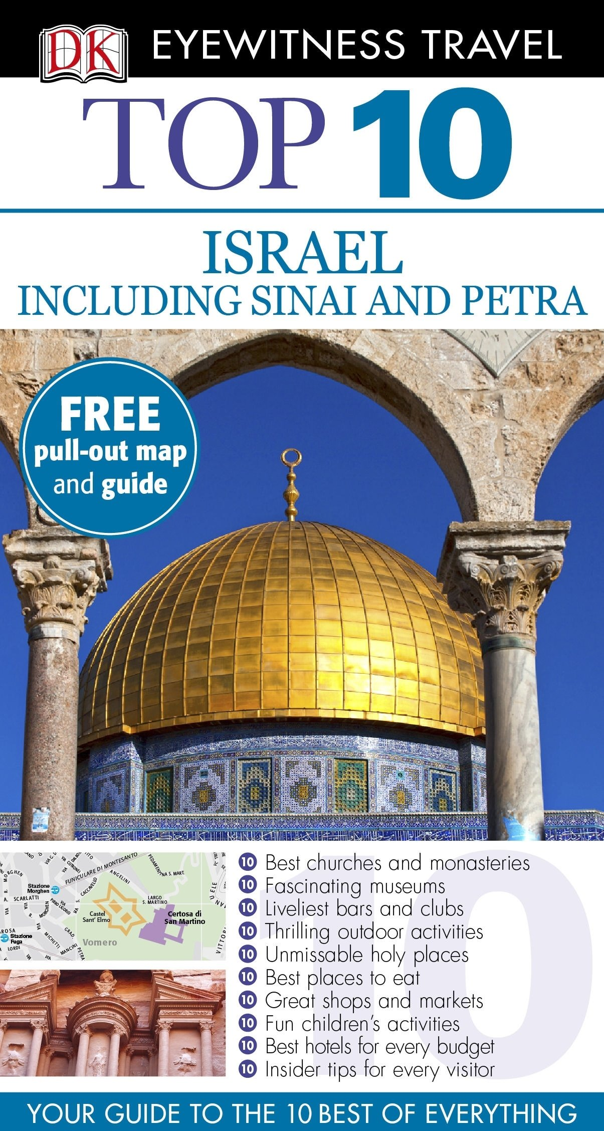 Top 10 Israel including Sinai and Petra (DK Eyewitness Travel Guide)