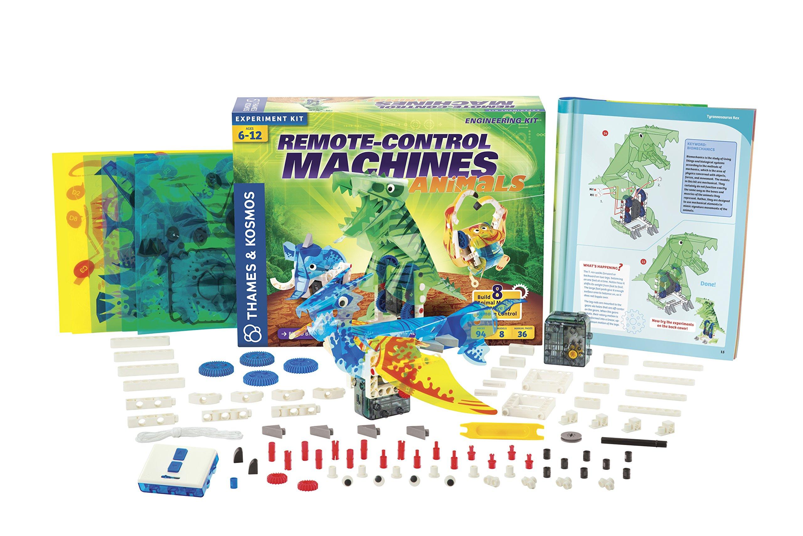 Thames & Kosmos Remote-Control Machines: Animals Science Kit by Thames & Kosmos (Image #3)
