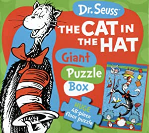 Cat in The Hat Giant Puzzle Book (Green): Amazon.es