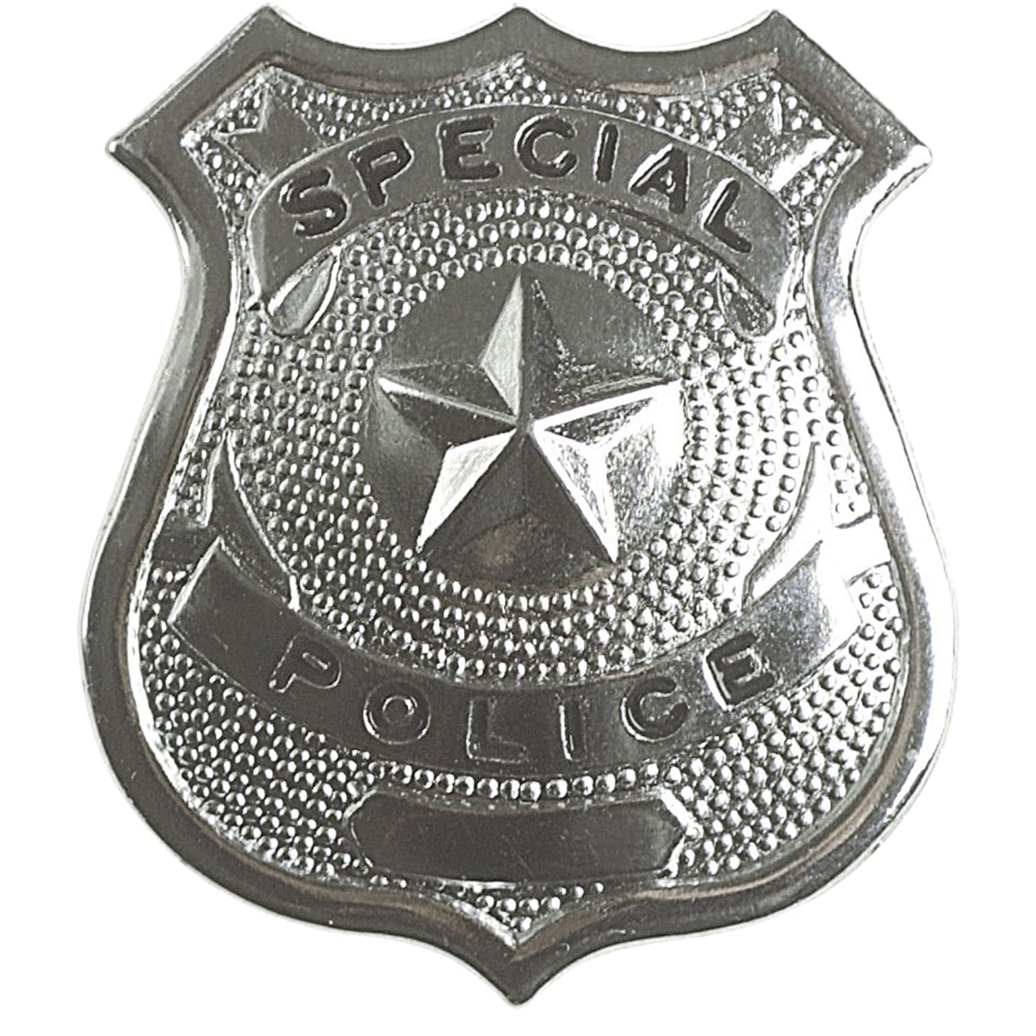 amazon com metal police badge accessory office products