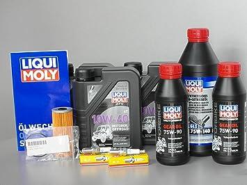 Mantenimiento - Set TGB Blade 1000, con oelfilter, Bujía, aceite, Inspección: Amazon.es: Coche y moto