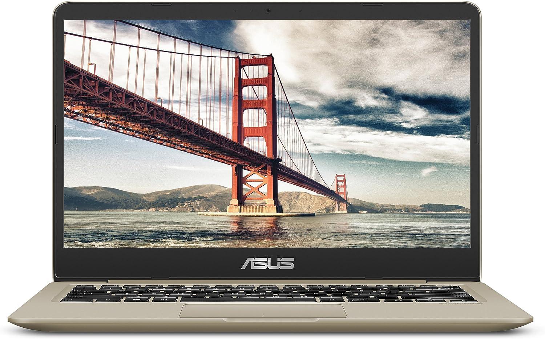 "ASUS VivoBook S S410UQ 14"" Thin and Lightweight FHD NanoEdge WideView Laptop, Intel Core i7-8550U Processor, NVIDIA GeForce 940MX Graphics, 8GB DDR4 RAM, 256GB SSD, Windows 10 Home, Backlit Keyboard"