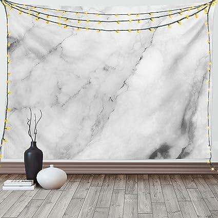 Marmo Tapestry By Ambesonne Superficie In Granito Motivo Con Effetto Schizzo Natura E Crepe Antico Stile