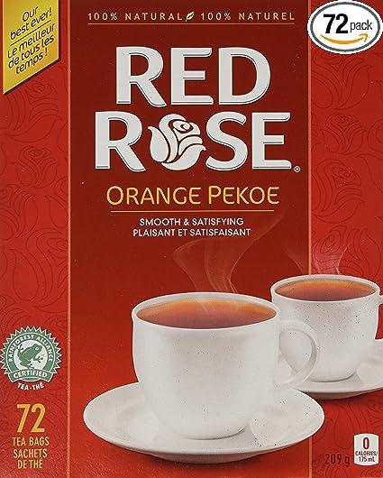 Canadian Red Rose Tea - 72 tea bags